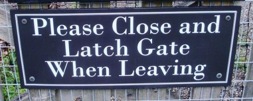 Locust Grove garden sign (5536)
