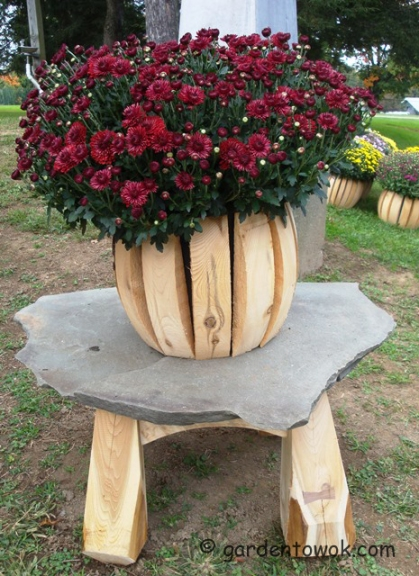 John Finnan - cedar planter (5853)
