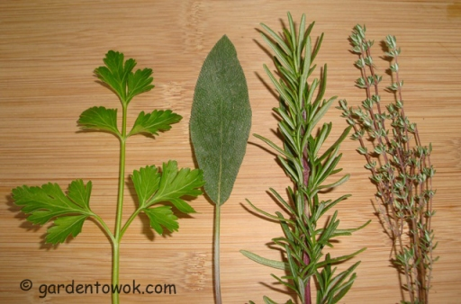 Parsley, sage, rosemary & thyme (06009)