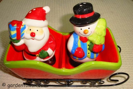 Christmas salt & pepper shaker (06071)