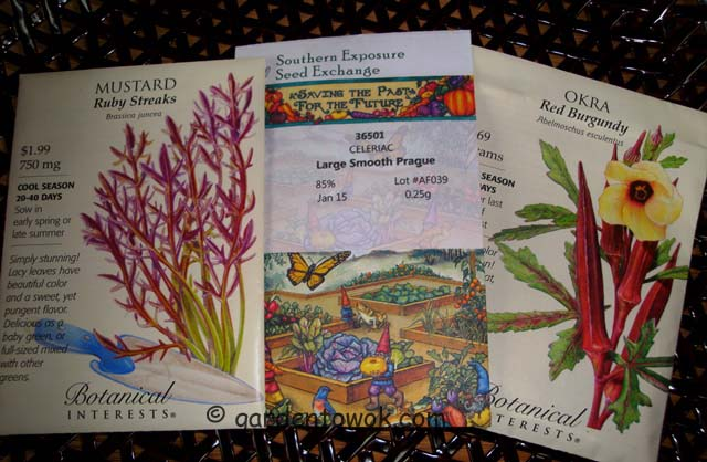 seeds packets (07226)