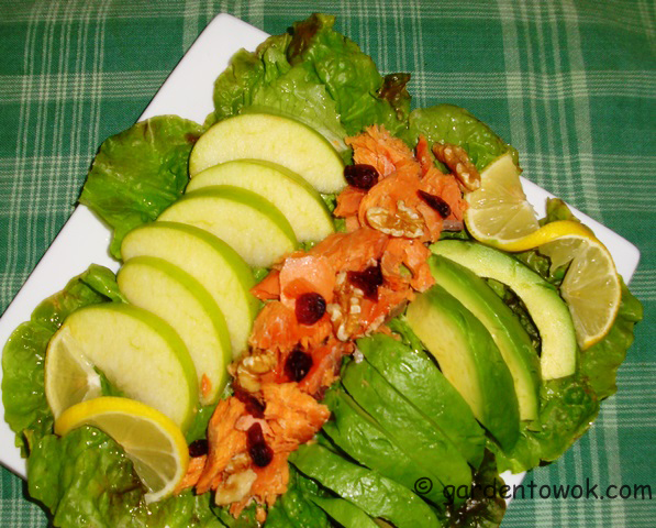 Smoked Salmon Salad (08504)